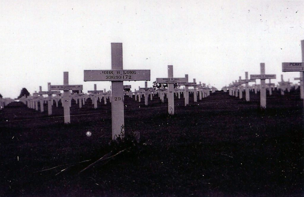 Temporary Grave at H-C