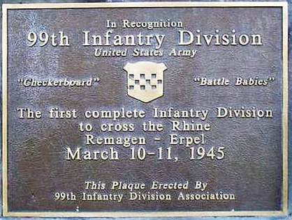 Dedicated To The 99th Infantry Division Source Internet
